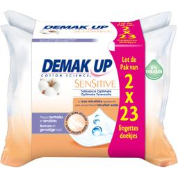 Demak'up Demak'up Cotton Science Sensitive les 2 paquets de 23