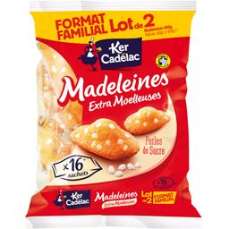 Madeleines extra moelleuses