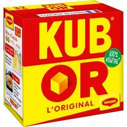 Or Maggi Kub  - Cubes de bouillon déshydraté la boite de 32 cubes - 128 g