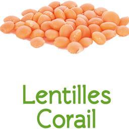Lentilles corail en VRAC