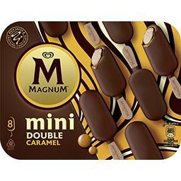 Bâtonnets mini de glace Double caramel