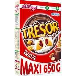 Trésor - Céréales goût chocolat noisettes