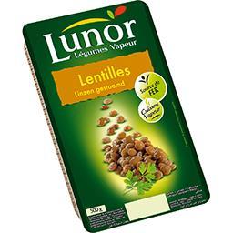 Légumes Vapeur - Lentilles