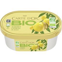 Les BIO - Sorbet citron de Sicile BIO