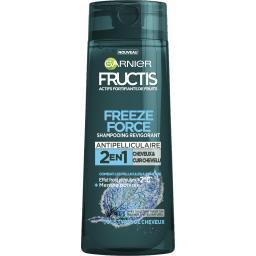 Freeze Force - Shampooing revigorant 2 en 1 menthe poivrée