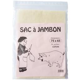 Sac jambon étamine coton 65x75