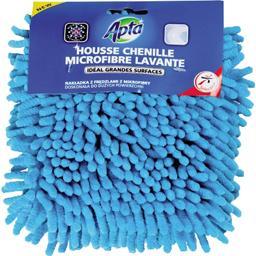Housse chenille microfibre lavante