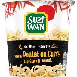 Nouilles saveur poulet au curry