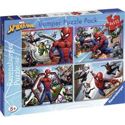 Bumper Puzzle Pack Marvel Spider-Man