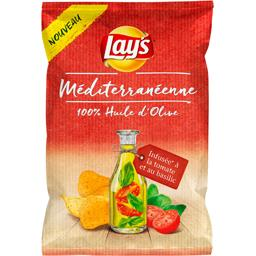 Chips méditerranéenne infusée tomate et basilic