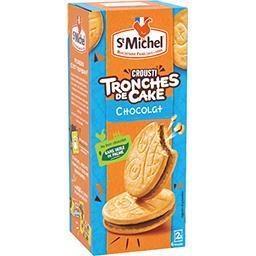Biscuits Tronches de Cake croustillant au chocolat