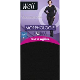 Collant opaque morpho WELL, noir, taille F + 1,65M