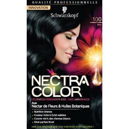 Nectra Color - Coloration noir n°100