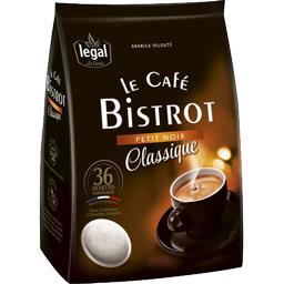 Dosettes de café, Le café Bistrot petit noir Classiq...