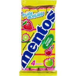 Bonbons tendres fruits acidulés