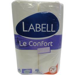 Papier toilette 3 épaisseurs Le Lotionné