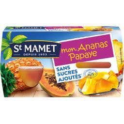 Mon Ananas Papaye sans sucres ajoutés