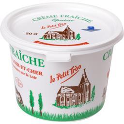 Le petit troo Crème épaisse Le pot de 50 cl