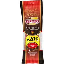 Elpozo Chorizo fort le paquet de 200 g