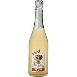Pétillant de Listel sans alcool arôme naturel pêche