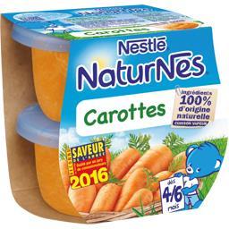 Carottes, dès 4/6 mois