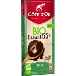 Chocolat noir Dessert 55% BIO