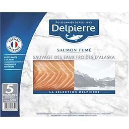 Delpierre Saumon fumé sauvage d'Alaska