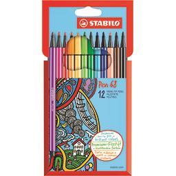 Pen 68 - Feutres de dessin couleurs éclatantes