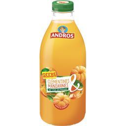 Andros 100% pur jus de clémentines & mandarines pressées