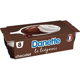 Danette - Dessert lacté Le Liégeois chocolat