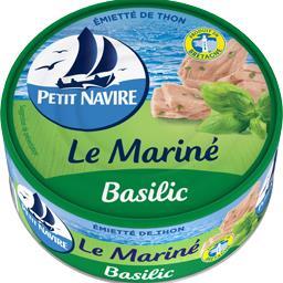 Emietté de thon Le Mariné basilic
