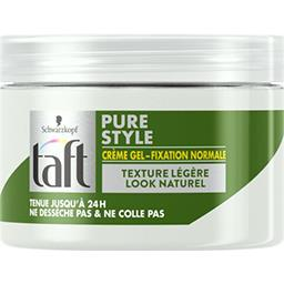 Taft - Crème gel Pure Style fixation normale