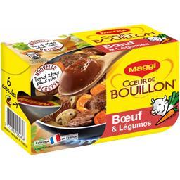 Cœur de Bouillon - Bouillon bœuf & légumes