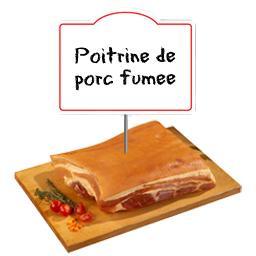 Demi poitrine de porc FUMEE