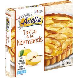 Tarte à la normande crème pâtissière