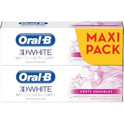 Oral B 3d white - whitening therapy - dents sensibles - den...