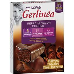 Mon Repas - Repas minceur complet barres chocolat noir intense