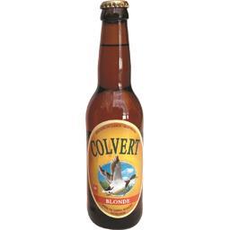 Colvert Bière blonde de garde la bouteille de 33 cl