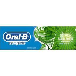 Dentifrice + bain de bouche Fraîcheur Naturelle