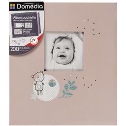 Album pochette marge d'écriture, 10 x 15 cm et 11 x 15 cm