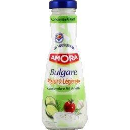 Plaisir & Légèreté - Sauce bulgare concombre ail ane...
