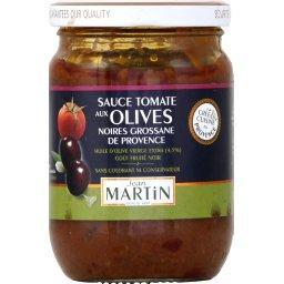 Sauce tomate aux olives noires grossane de Provence