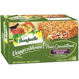 Bonduelle VeggissiMmm! - Pavé croustillant légumes du soleil b...