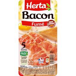 Bacon fumé grandes tranches