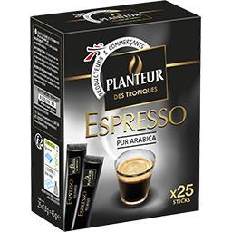 Café soluble Espresso pur arabica