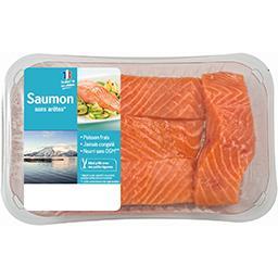 Pavés de saumon sans arêtes