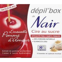 Dépil'box - Cire au sucre L'irrésistible Pomme d'Amour