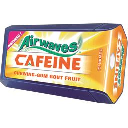 Chewing-gum Caféine goût fruit