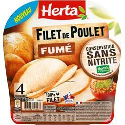 Herta Filet de poulet fumé