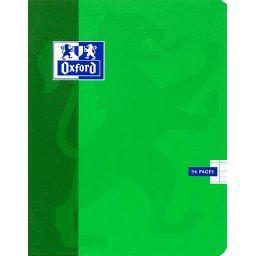 Cahier agrafé 17x22cm, 96 pages 90g, seyès, grands c...